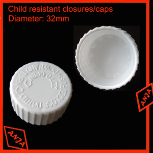 32mm Child resistant Closure