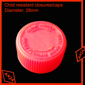 28mm Child resistant closure